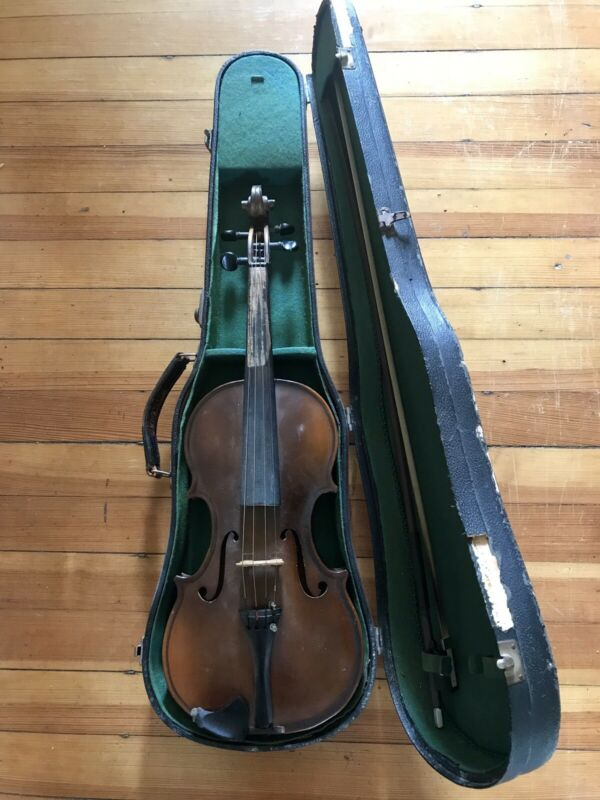 Vintage Antique Violin with Hard Case