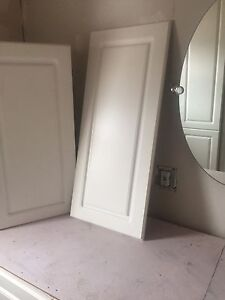 Cabinet doors.    Different sizes. New in boxes, 1/2 price