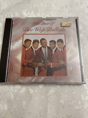 The Best of Doo Wop Ballads CD RHINO The Crests Dion & the Belmonts
