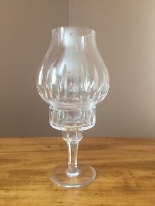 Never Used Solid Glass Decorative Candle Holder