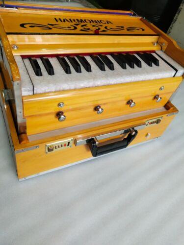 SAI Musicals, SMALL Harmonium, Classic Edition, Natural Color 4 STOPPER