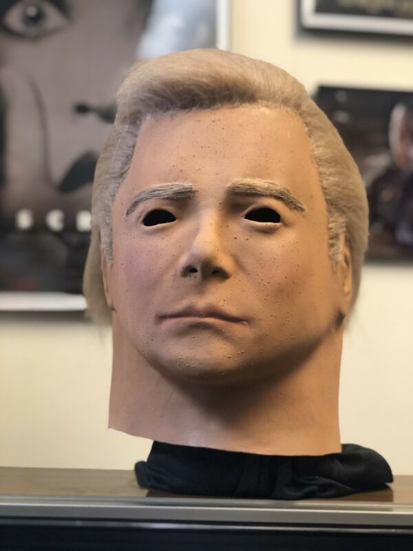 1975 Kirk Mask Don Post Mask Michael Myers Mask