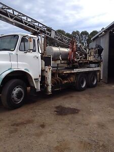 Drill rig borer,M.A.N  6WD,rock drilling, foundation pileing Pitt Town Hawkesbury Area Preview