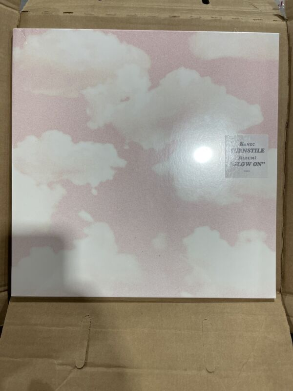 Turnstile Glow On Lp Record Black Vinyl New In Hand Ready To Ship Sold Out