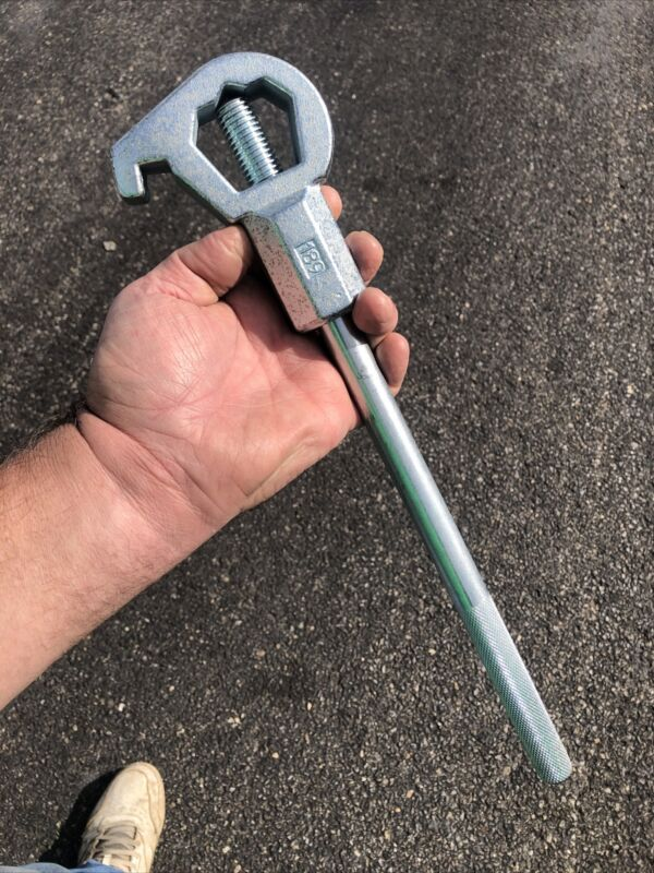 Fire Hydrant Heavy Duty Adjustable Wrench