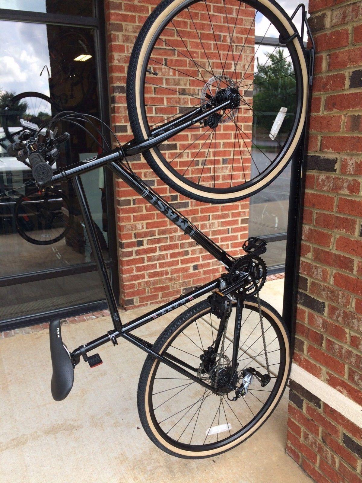 MASI STRADA VIA DUE HYBRID BICYCLE BLACK LARGE