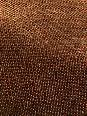 COPPER BROWN CHENILLE HEAVY WEIGHT UPHOLSTERY FABRIC (54 in.) Sold By The Yard Brown Chenille Upholstery Fabric