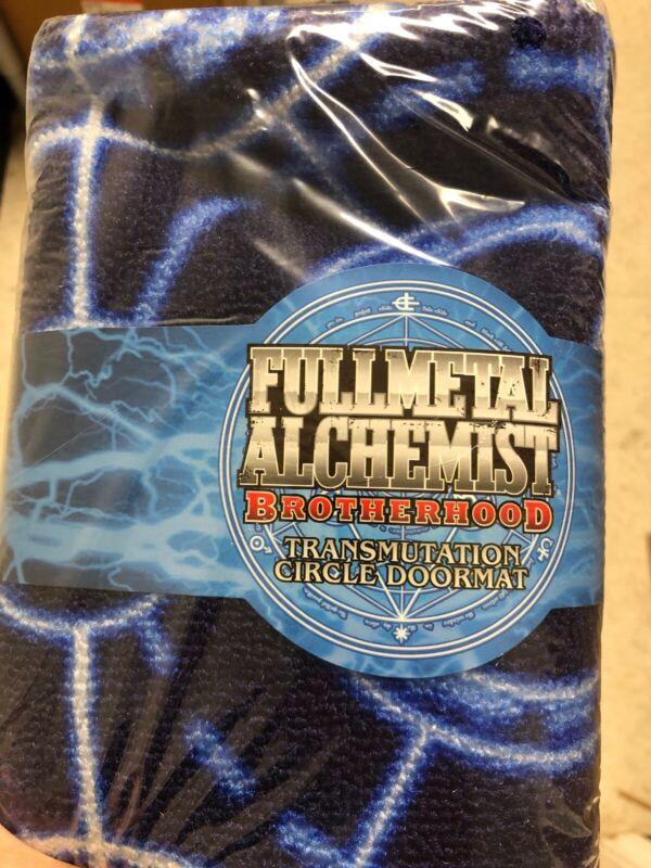 LOOT ANIME Crate Fullmetal Alchemist Brotherhood Transmutation Doormat Rug NEW