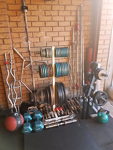 Weights, Barbells, Dumbbells - Gym Equipment Wantirna Knox Area Preview