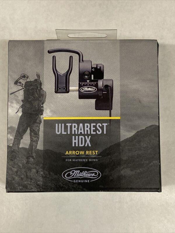 Mathews Ultra Arrow Rest LH-Black-80261