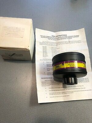 New Racal Health Safety 453-03-01 Respirator Cartridge Type Aep3 Power-plus 3m
