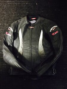 Teknic leather motorcycle jacket