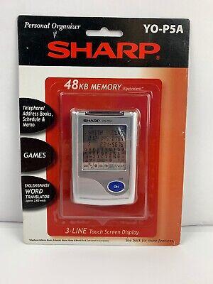 Sharp YO-P5A Personal Organizer 48KB Memory