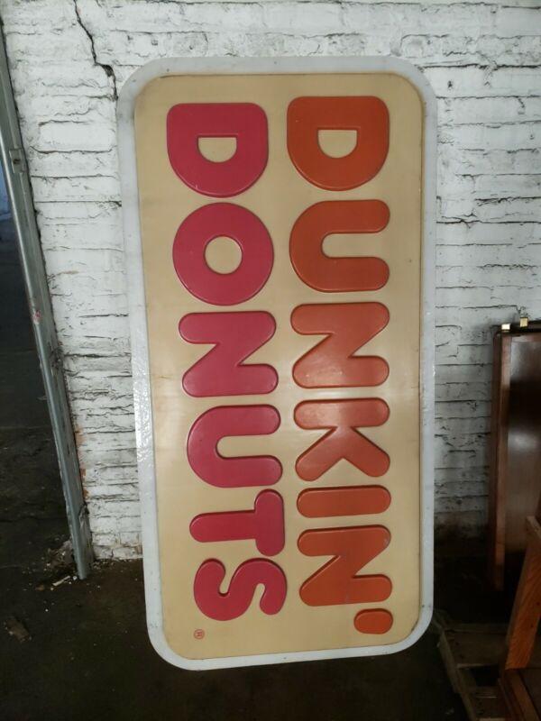 Original Dunkin Donuts Sign