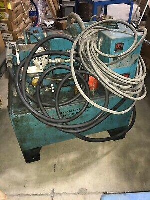 Western Fluid Power Corp 15hp 15gpm 40 Galon Hydraulic Power Unit