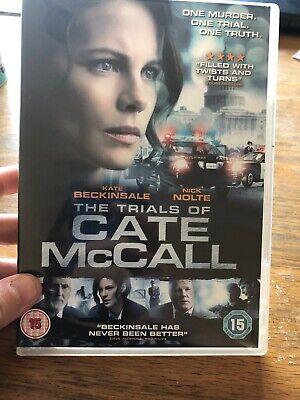 The Trials of Cate McCall DVD (2014) Kate Beckinsale, Moncrieff (DIR) cert 15