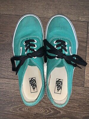 Vans Size 1.5 Green Kids