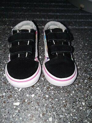 Infant girls VANS size 7
