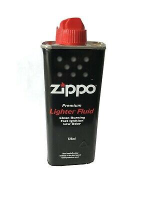 Official Zippo Lighter Fluid 125ml - Premium Fuel - Fast UK Shipping - UK Seller