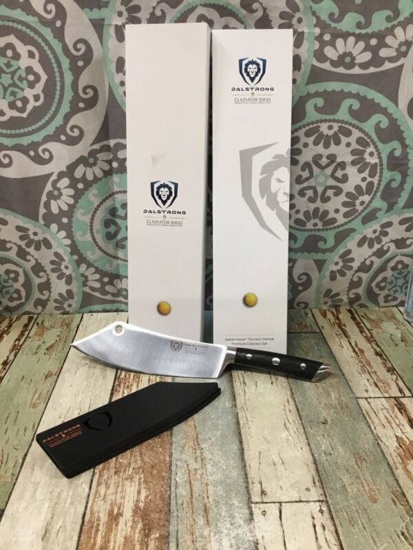 """DALSTRONG Gladiator Series 8"""" """"The Crixus"""" Chef Knife"""