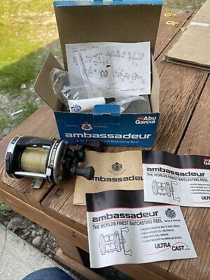 Abu Garcia Ambassadeur 6500-C3 Ball Bearing Bait Casting Reel, nice !!