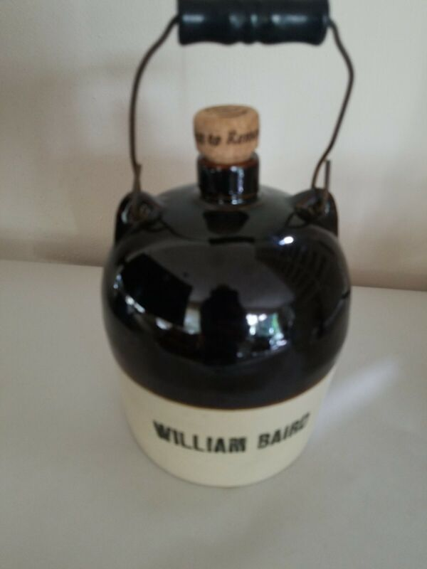 William Baird Stoneware Liqour Jug