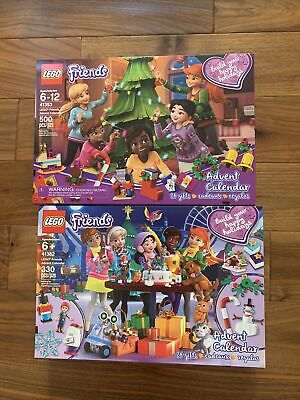 LEGO Friends: Advent Calendar Lot 41382 & 41353 From 2018 & 2019