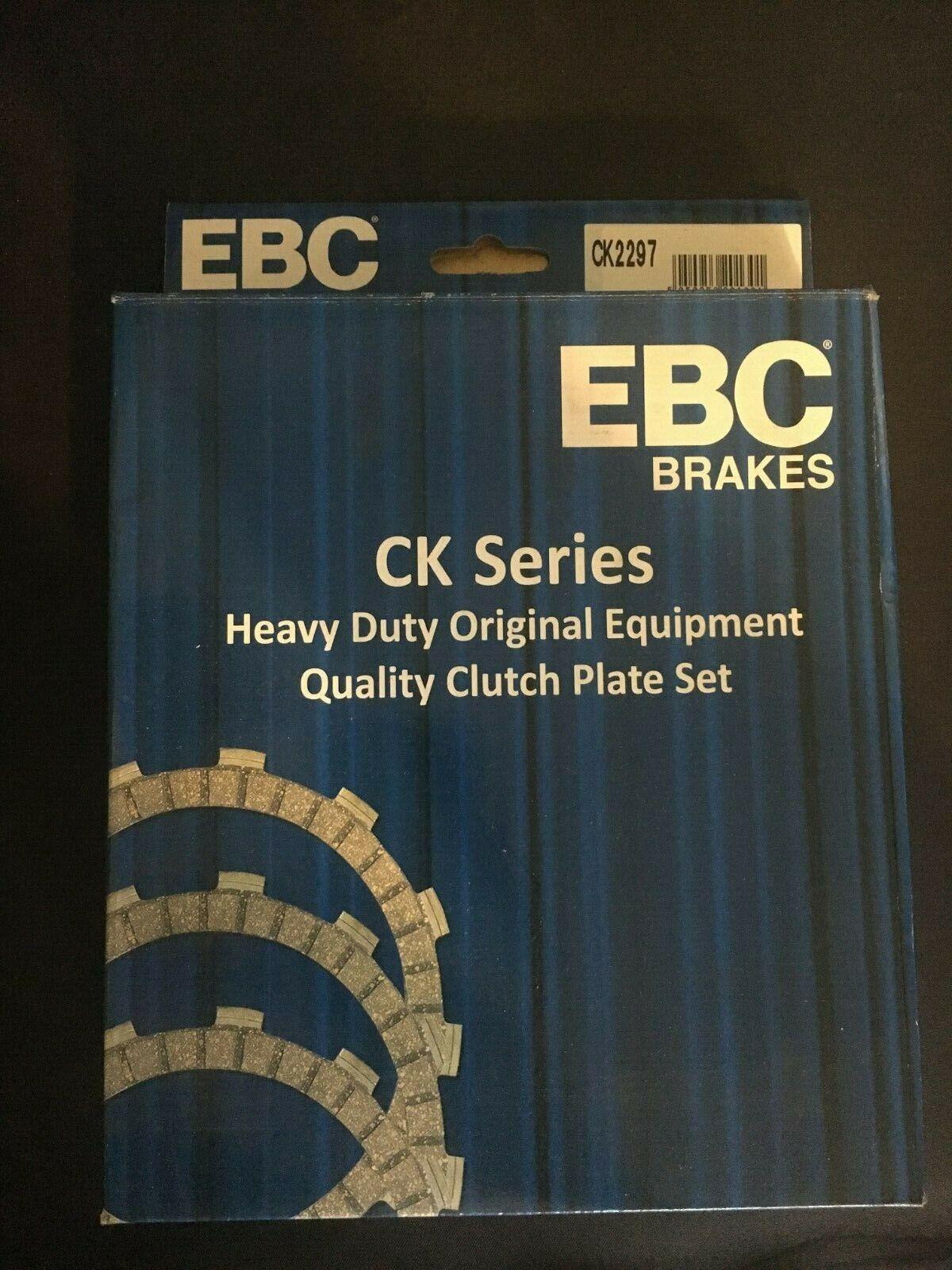 YAMAHA SRX 600 86-87 EBC Heavy Duty Clutch Plate Kit CK2297