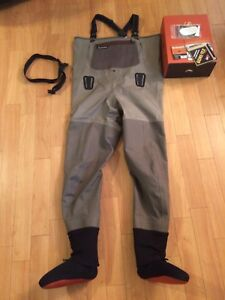 Simms G3 waders L (9-11) for sale