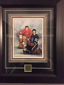 Terry Sawchuck Toronto Maple Leafs/ Detroit Red Wings Frame