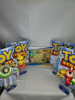Disney Pixar - Toy Story 4 - Buzz Lightyear 7in. Posable Action Figures