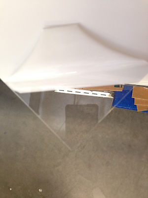 Clear Acrylic Plexiglass Plastic Sheet - 316 X 24 X 24