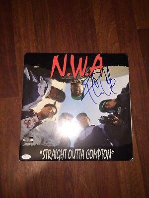 Ice Cube Signed NWA Vinyl *JSA COA* O'Shea Jackson Straight Outta Compton Celeb