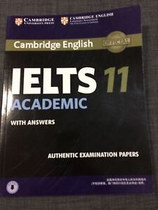 Brand new Cambridge IELTS book 11 (Cam 1-10 also available) Lidcombe Auburn Area Preview