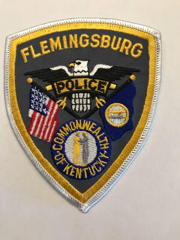 Flemingsburg Kentucky Police Department Patch Kt