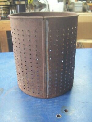 Strainer Basket Sausage Stuffer Lard Fruit Duck Cider Press