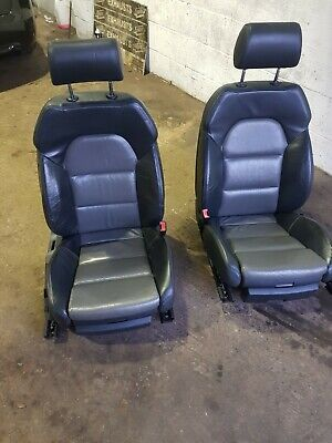 Audi a4 front leather seats heated electric s line