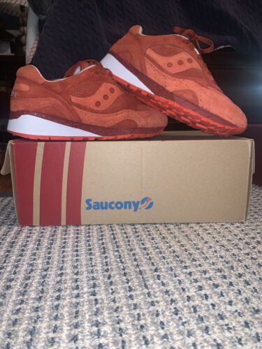 """Saucony X Premier Shadow 6000 """"Life On Mars"""" Red Size 9.5"""