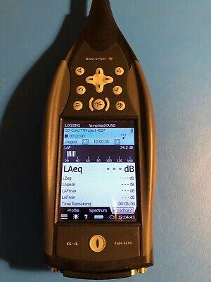 Bruel Kjaer 2270 Octave Band Sound Level Meter Zc032 Preamp 4189 Mic