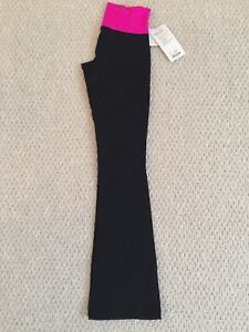 New with tags Lululemon pants pink black size 6