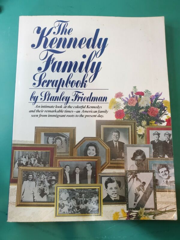 Vintage The Kennedy Family Scrapbook by Stanley Friedman
