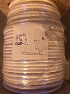 14 Gauge 4 Conductor High Strand Copper Speaker Cable 500FT CL3