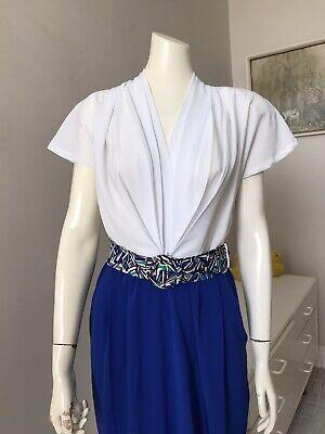 80s Dresses   Casual to Party Dresses Original Vintage 80s Dress , Day To Evening Dress , Large Size , Retro New Wave $27.88 AT vintagedancer.com