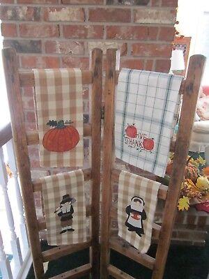 Antique oak wood linen or quilt rack  for sale  Salem