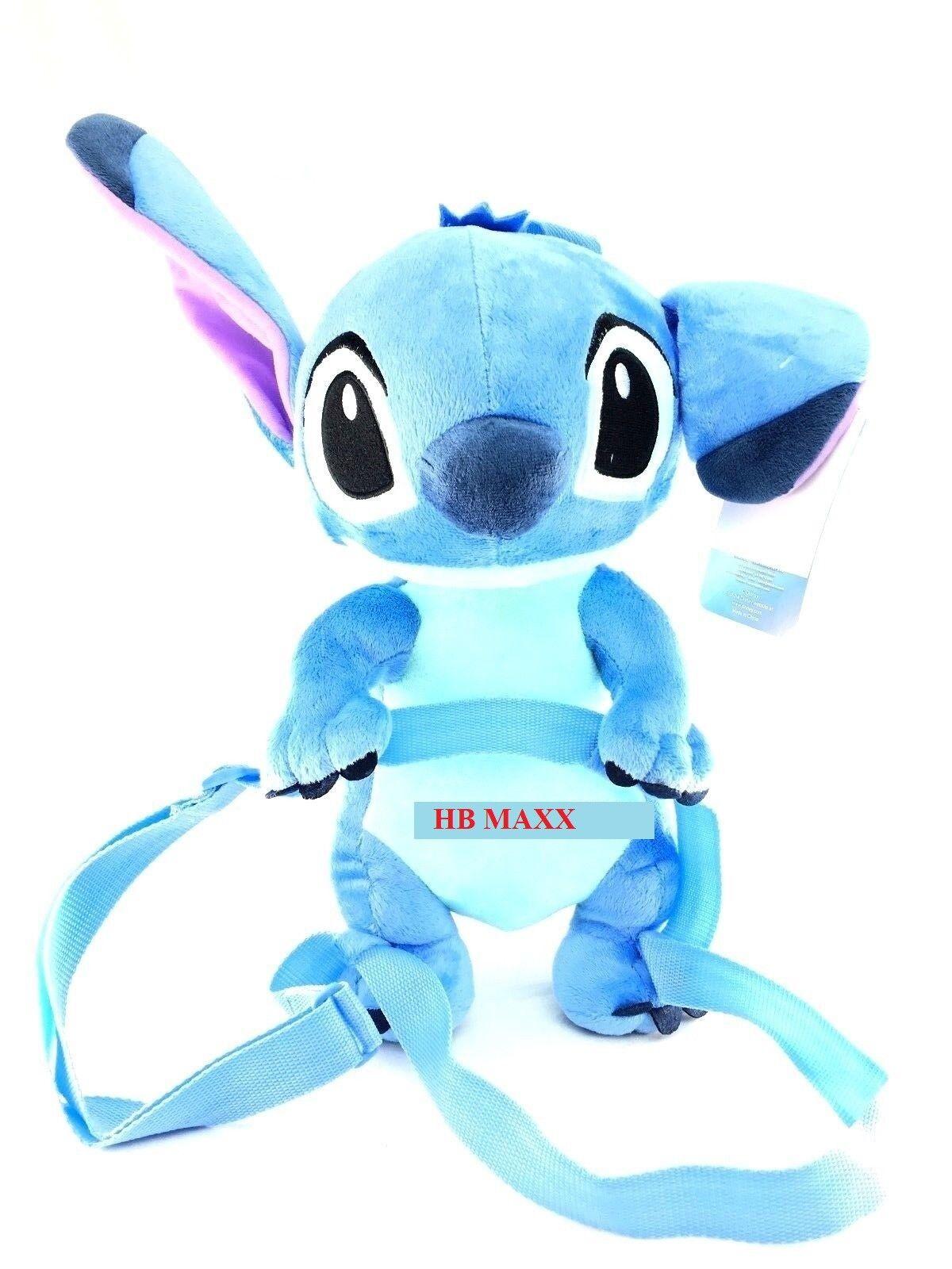 "Disney Lilo and Stitch - Stitch Blue 16"" Soft  2 in 1 Plush"