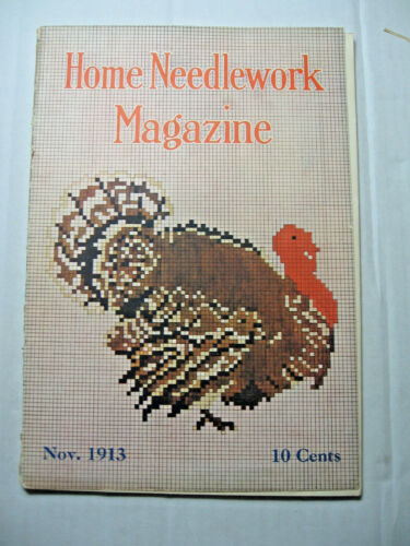 November 1913 Home Needlework Magazine