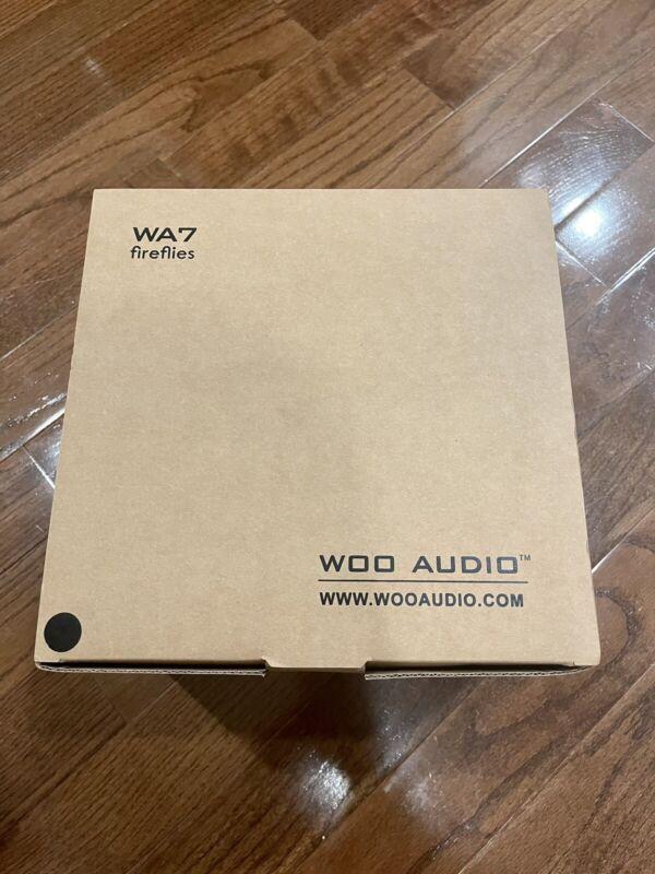 WooAudio Woo Audio WA7 Fireflies Headphone Tube Amplifier DAC extra tubes