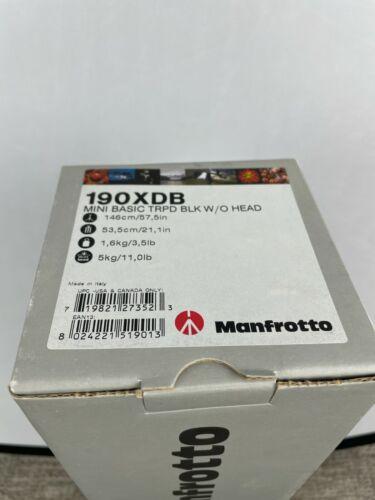 Manfrotto 190XDB Tripod