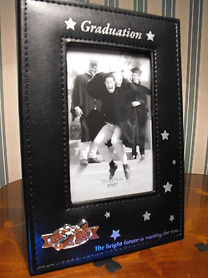 GRADUATION PHOTO GIFT GIRLS BOYS GRADUATION DAY BLACK PHOTO FRAME GIFT FAST P+P ()