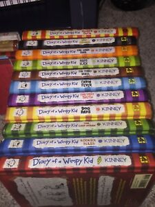 Diary of a Wimpy Kid Books 1-11 plus Extras